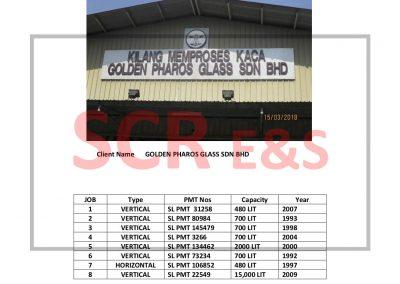 Report SVT 2018-03 Golden Pharos Glass